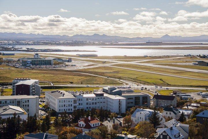 Nýja hverfið verður milli Reykjavíkurflugvallar og Skeljaness í Skerjafirði.