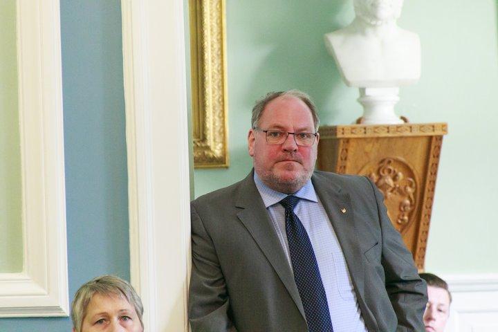Ásmundur Friðriksson, þingmaður Sjálfstæðisflokks.