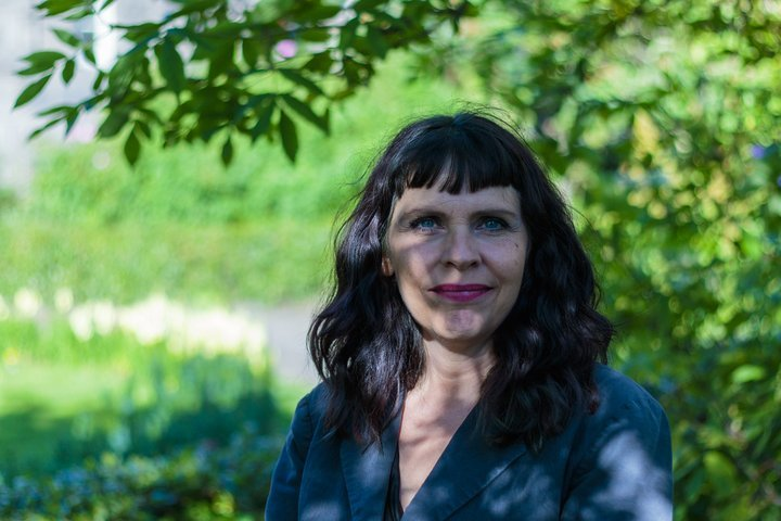 Birgitta Jónsdóttir, fráfarandi þingmaður Pírata.