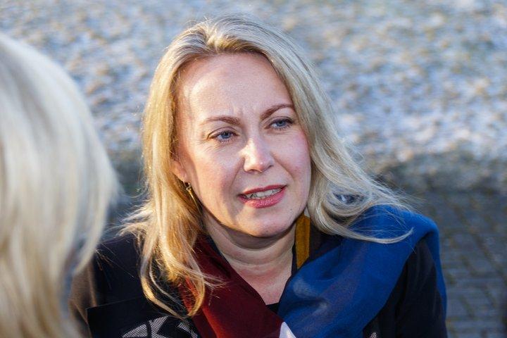 Sigríður Andersen er dómsmálaráðherra.