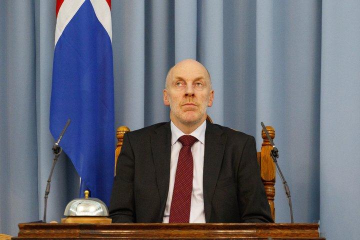 Steingrímur J. Sigfússon er forseti Alþingis.