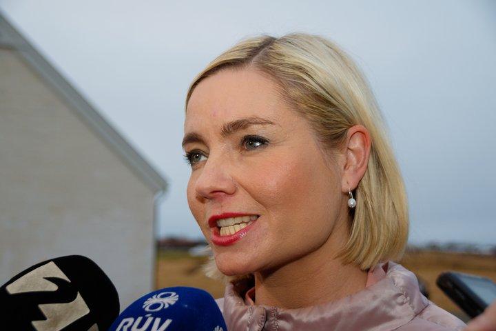 Lilja Alfreðsdóttir er mennta- og menningarmálaráðherra.