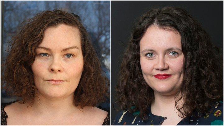 Ólöf Magnúsdóttir og Eva Huld Ívarsdóttir