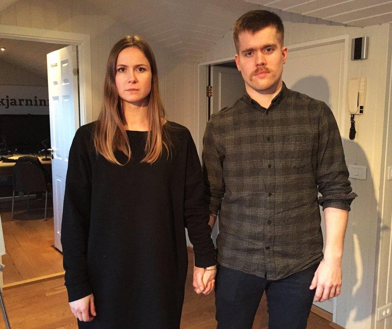 Aðalheiður Halldórsdóttir og Grettir Gautason