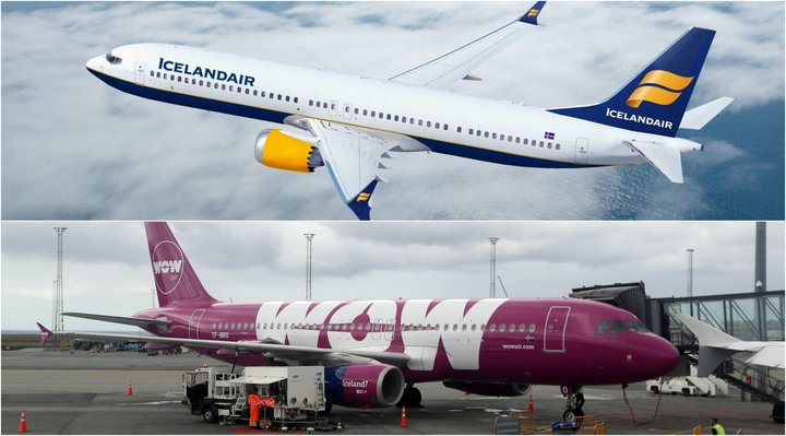 Icelandair og WOW air