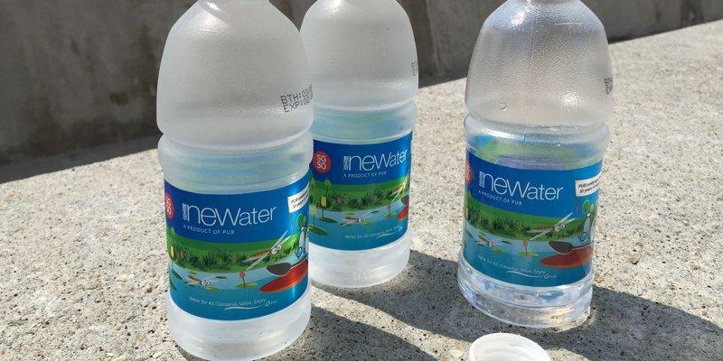 NEWater er jafn frískandi og svalandi og annað vatn.