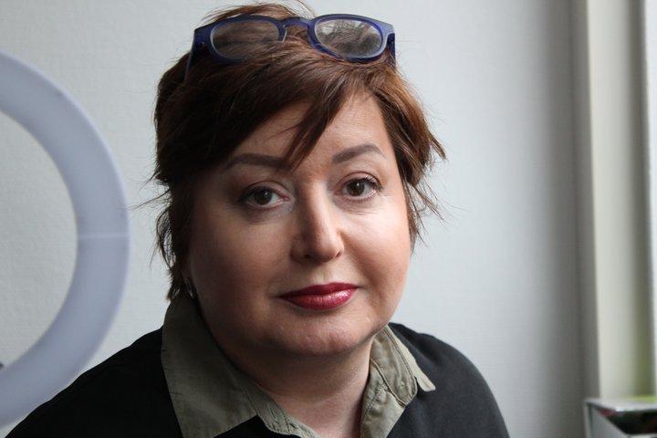 Olga Romanova blaða- og baráttukona.