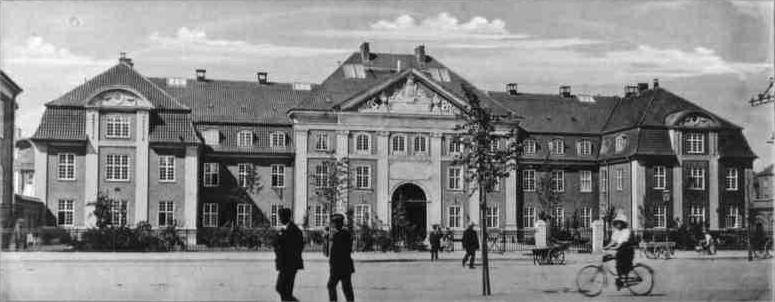 Rigshospitalet árið 1910.