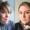 Helga Baldvinsdóttir Bjargardóttir og Hrefna Þórarinsdóttir