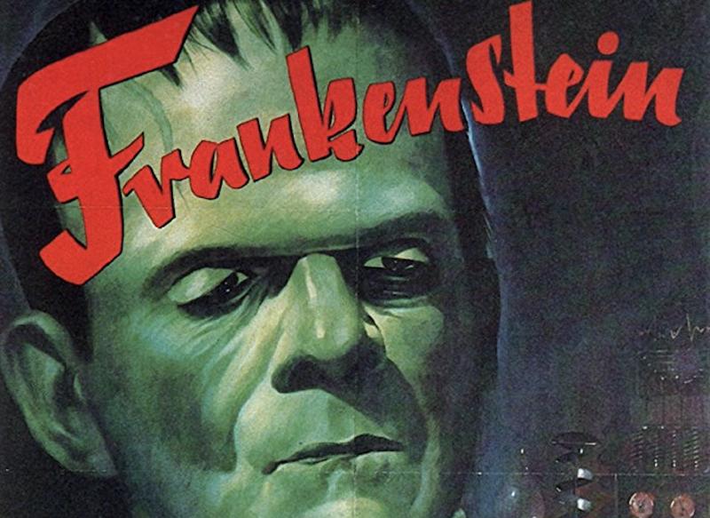 Frankenstein - Veggspjald