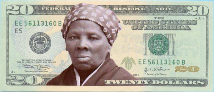 Harriet Tubman er ein af frægustu baráttukonum nítjándu aldar. Hún barðist fyrir réttindum blökkumanna og kosningarétti kvenna og frelsaði hundruð manna úr þrældómi. Fyrirhugað var að mynd af henni yrði á næstu útgáfu 20$ seðilsins.