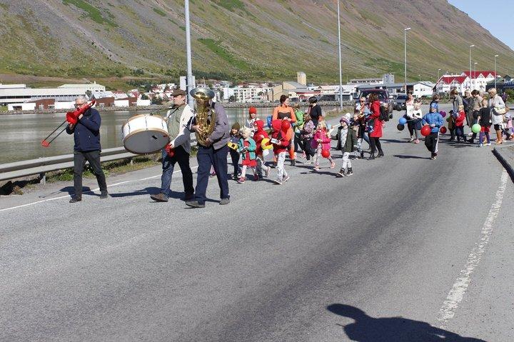 Tungumálaskrúðgangan á Ísafirði 2017