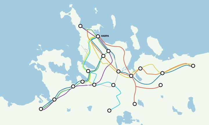 Lega Borgarlínu á höfuðborgarsvæðinu