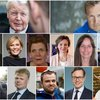 Ólafur Ragnar Grímsson, Andri Snær Magnason, Bæring Ólafsson, Halla Tómasdóttir, Elísabet Jökulsdóttir, Hildur Þórðardóttir, Guðrún M. Pálsdóttir, Ástþór Magnússon, Ari Jósepsson, Sturla Jónsson, Benedikt K. Mewes, Hrannar Pétursson og Magnús Magnússon.