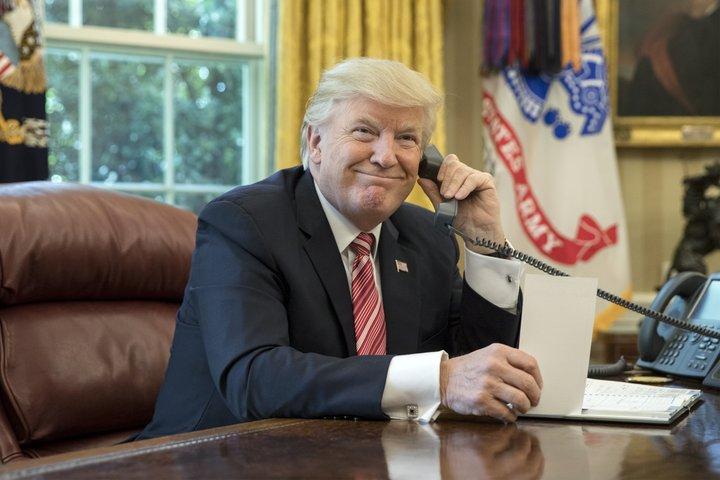 Donald Trump sími forseti Bandaríkin