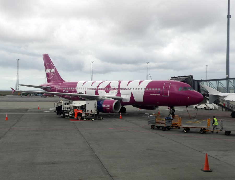 Mynd: EPA wow air