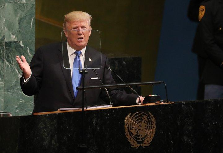 Donald Trump forseti Bandaríkjanna