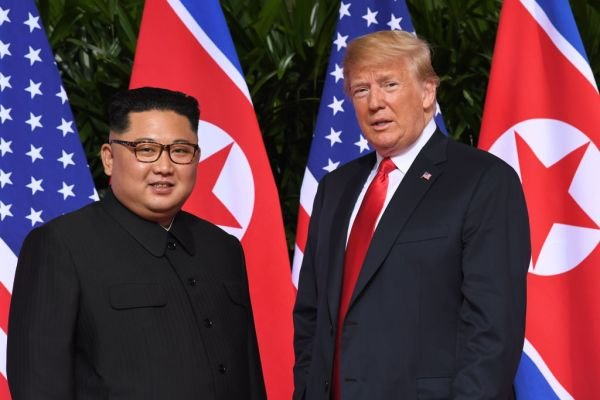 Kim og Trump