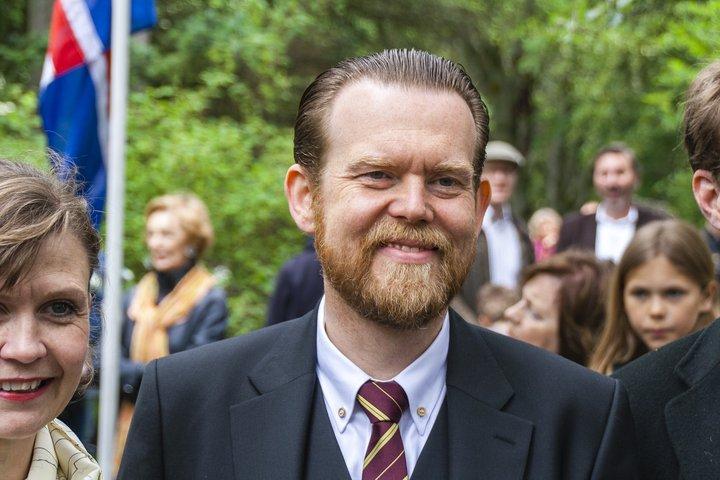 Björn Blöndal, oddviti Bjartrar framtíðar.