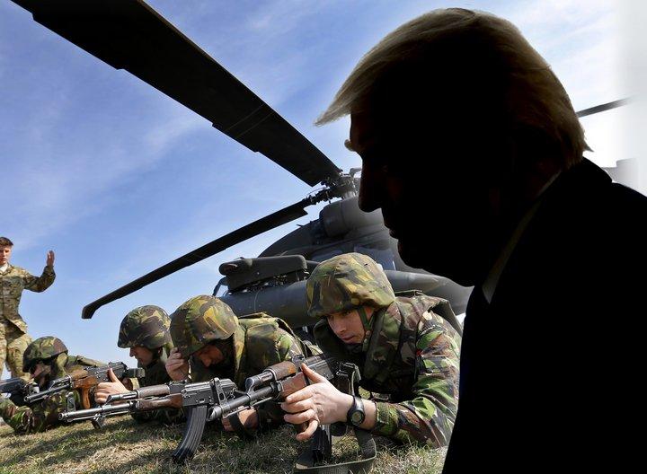 Donald Trump telur framlag annarra bandalagsþjóða í NATO vera of lítið.