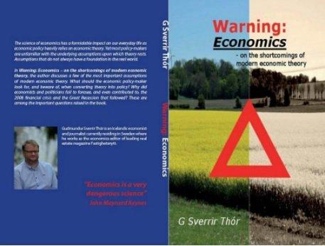 Warning Economics. Svona lítur bókarkápan út.